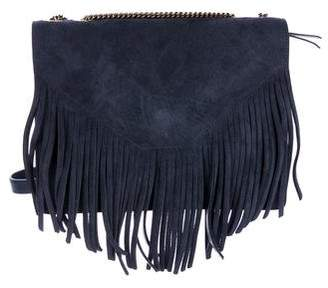 Gerard Darel Suede Fringe Shoulder Bag w/ Tags