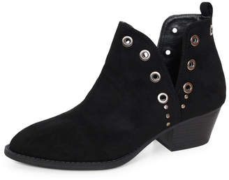 Chinese Laundry Vegan Suede Booties