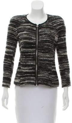 Etoile Isabel Marant Bouclé Zip-Up Jacket