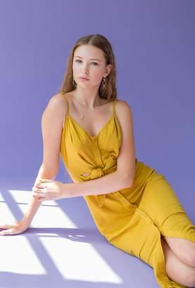 Azalea Cami Midi Button Down Dress