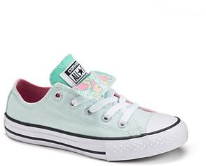 Kid's Converse Chuck Taylor All Star Floral Double Tongue Shoes $40 thestylecure.com
