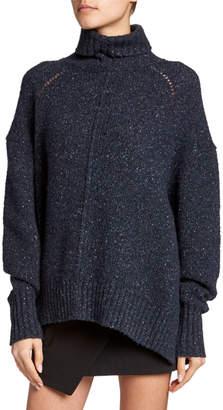 Isabel Marant Cashmere Chunky-Knit Turtleneck Sweater