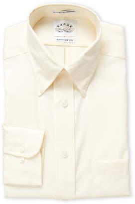 Eagle Corn Silk Regular Fit Dress Shirt