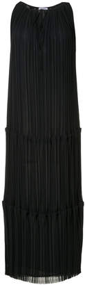 P.A.R.O.S.H. long pleated dress