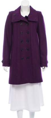Burberry Wool Knee-Length Coat
