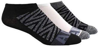 adidas Three-Pack Women's Adi Graphic Design No Show Socks