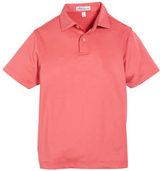 Peter Millar Solid Stretch Jersey Polo Shirt, Size XS-XL
