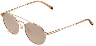 Calvin Klein Round Metal Sunglasses
