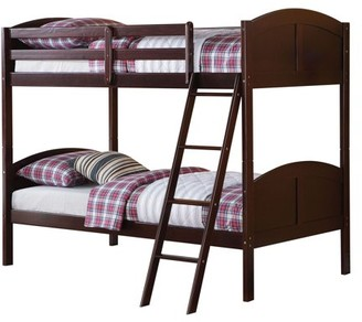 Acme Toshi Twin/Twin Bunk Bed, Espresso