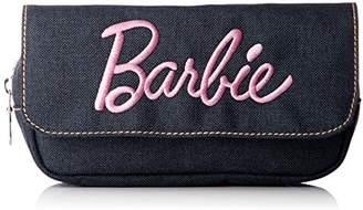 Barbie (バービー) - [バービー] デニム 刺繍 ロゴ フラップポーチ RCBB-115b L/PK ライトピンク(RCBB-115)