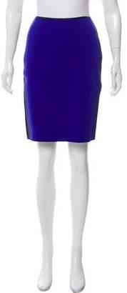 Reed Krakoff Neoprene Knee-Length Skirt