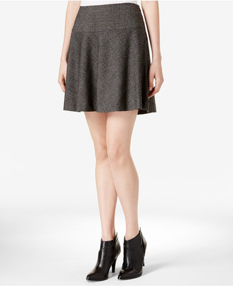 kensie Tweed Skater Skirt $69 thestylecure.com