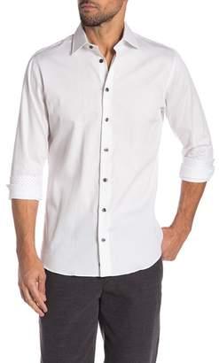 14th & Union Solid Stretch Trim Fit Shirt