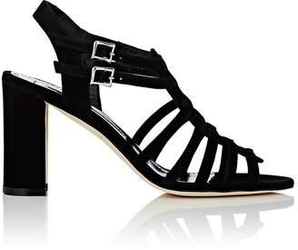 Manolo Blahnik Women's Ticcia Suede Sandals