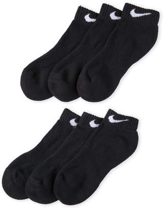Nike 6-Pack Performance Cotton Cushioned Low Cut Socks