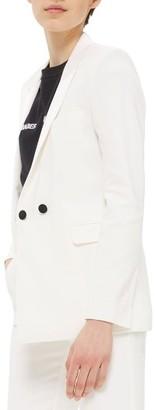 Women's Topshop Tux Suit Jacket $160 thestylecure.com