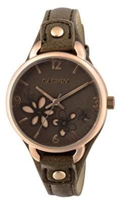 Kahuna Womens Quartz Watch, Analogue Classic Display and PU Strap AKLS-0310L