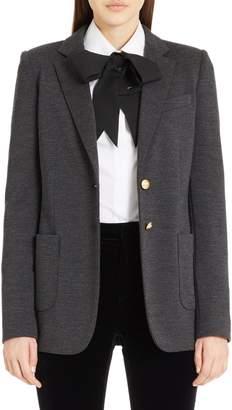 Dolce & Gabbana Punto Milano Wool Blazer