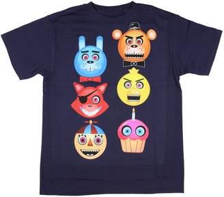 Freddy Five Nights at Freddy's Boys' Fazbear Glow in the Dark T-Shirt