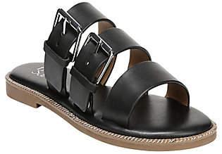 Franco Sarto Slip on Buckle Sandals - Kasa