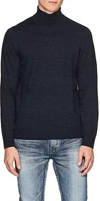 Piattelli MEN'S MERINO WOOL TURTLENECK SWEATER