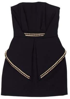 Sass & Bide Embellished Mini Dress
