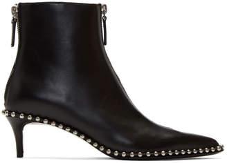 Alexander Wang Black Eri Low Boots