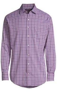 Peter Millar Picnic Woven Button-Down Shirt