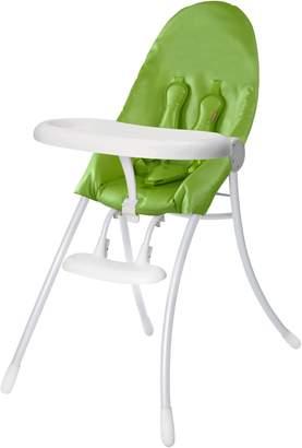 Bloom Urban Highchair (Matt White Frame with Gala Green)