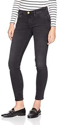 True Religion Women's Halle Skinny Jeans, (Black Denim 1001), 30W x 32L