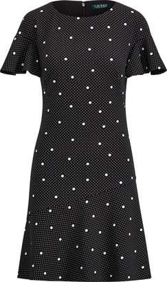 Ralph Lauren Print Fit-and-Flare Dress