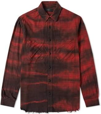 Amiri Cloud Loose Fit Plaid Shirt