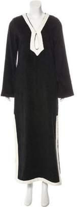 Lisa Marie Fernandez Long Sleeve Terry Cloth Cover-Up