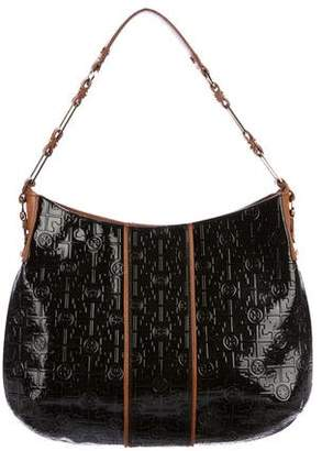 Tory Burch Embossed Patent Leather Hobo