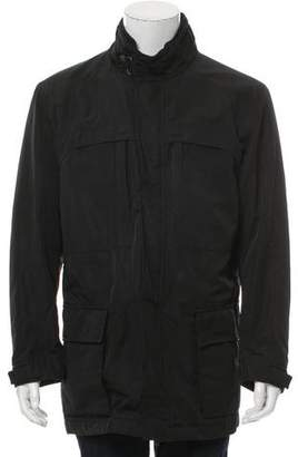 Zegna Sport Mock-Neck Coat