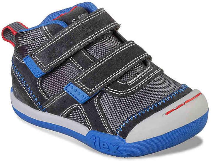 Skechers Flex Play Mid Dash Toddler Sneaker - Boy's
