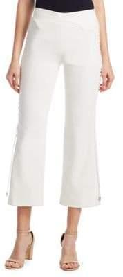 Jonathan Simkhai Crepe Cropped Pants