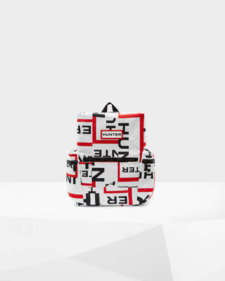 Hunter Original Exploded Logo Top Clip Mini Backpack