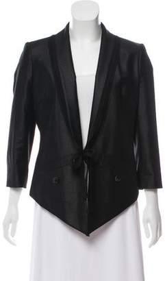 Edun Long Sleeve High-Low Blazer