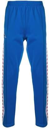 Kappa logo tape track pants
