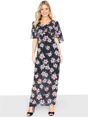 Girls On Film Floral Print Maxi Dress - Multi