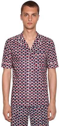 Valentino Printed Bowling Shirt