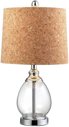 clear Elk Lighting Glass Led Table Lamp
