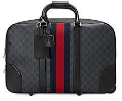 Gucci Men's Soft GG Supreme Carry-On Duffle with Wheels