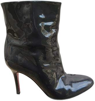 Dolce & Gabbana Patent leather ankle boots
