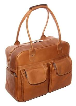 Piel Leather MULTI-POCKET SATCHEL