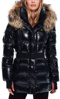 SAM. Millennium Fur Trim Down Coat $695 thestylecure.com