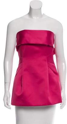 Thakoon Strapless Bow-Accented Top w/ Tags