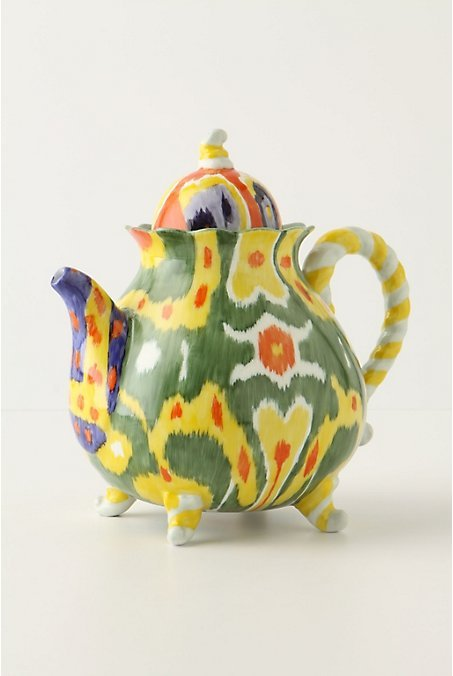 Magic Ikat Teapot