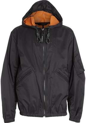 Burberry hooded windbreaker jacket